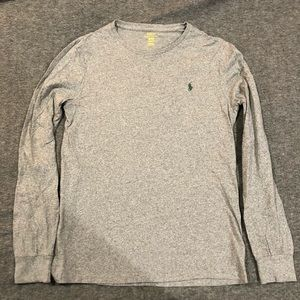 Polo Ralph Lauren Long Sleeve LS Medium Gray